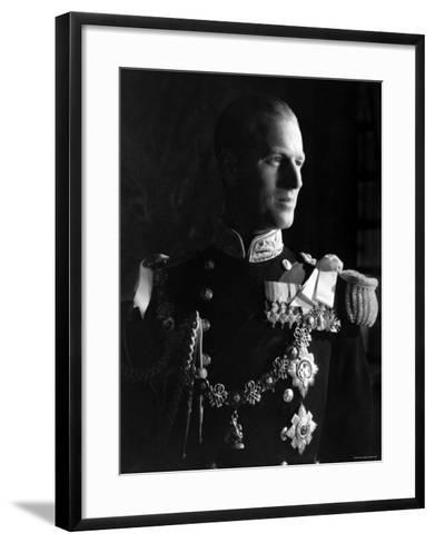 Prince Philip, Duke of Edinburgh, Earl of Merioneth and Baron Greenwich, Married to the Queen-Cecil Beaton-Framed Art Print