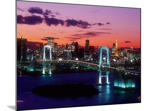 Evening View of Rainbow Bridge--Mounted Photographic Print