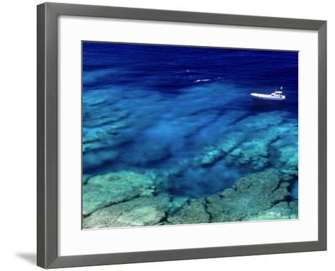 Sea of Ie Island--Framed Art Print