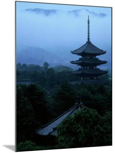 Pagoda of Koufukuji Temple--Mounted Photographic Print