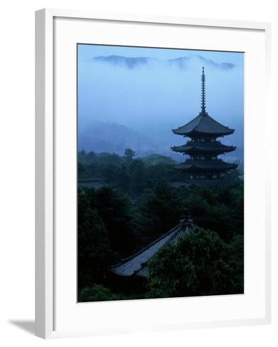 Pagoda of Koufukuji Temple--Framed Art Print