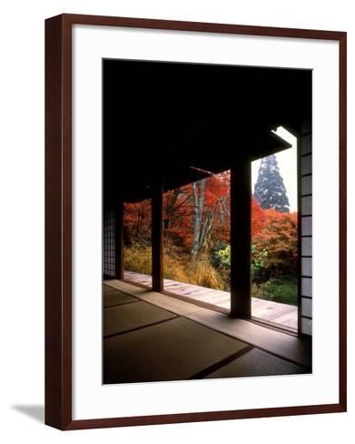 Kozanji Temple--Framed Art Print