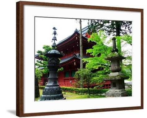 Rinnoji Temple--Framed Art Print