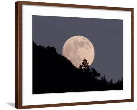 Full Moon--Framed Art Print