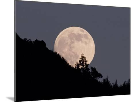Full Moon--Mounted Photographic Print