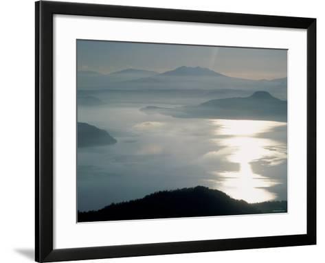 Lake Kussharo--Framed Art Print