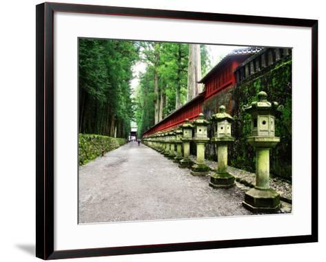 Approach of Futara-San Shrine--Framed Art Print
