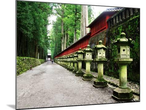 Approach of Futara-San Shrine--Mounted Photographic Print