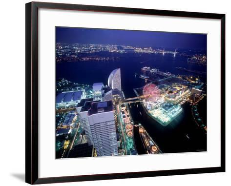 Minato Mirai Area--Framed Art Print