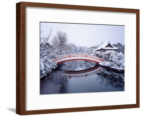 Shinsen-En Garden--Framed Art Print