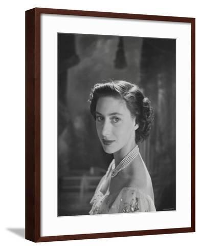 The Princess Margaret, Countess of Snowdon, 21 August 1930 - 9 February 2002-Cecil Beaton-Framed Art Print