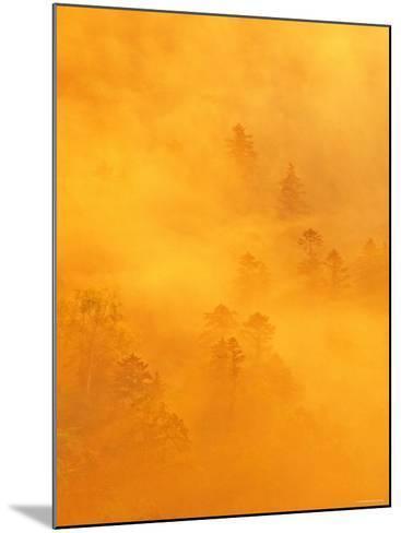 Morning View from Tsubetu Pass--Mounted Photographic Print