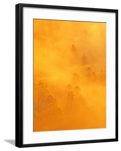 Morning View from Tsubetu Pass--Framed Art Print