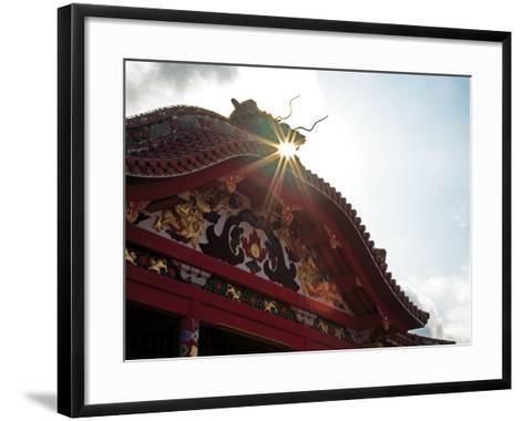 Shuri Castle--Framed Art Print