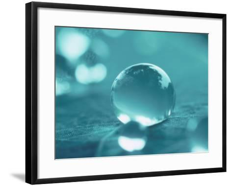 Waterdrops--Framed Art Print