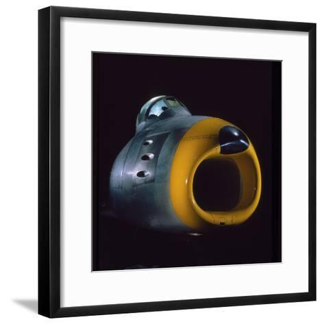 Air and Space: North American F-86A Sabre Nose--Framed Art Print