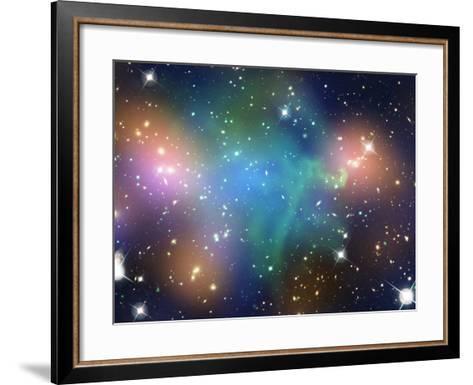 SAO: Abell 520--Framed Art Print