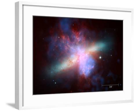 m82 scale--Framed Art Print