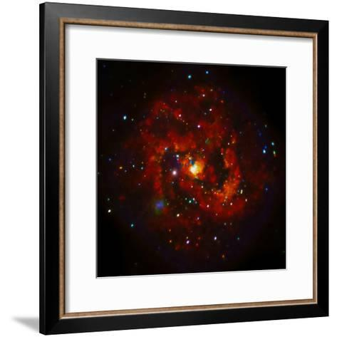SAO: M83 Spiral Galaxy--Framed Art Print