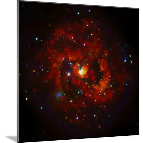 SAO: M83 Spiral Galaxy--Mounted Photographic Print