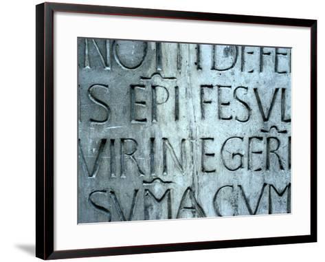 Detail of Cantoria, For the Museo Dell' Opera Del Duomo-Luca Della Robbia-Framed Art Print