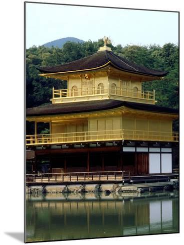 Kinkaku (Golden Pavillion) in the Garden of Rokuon-Ji Temple, Kyoto, Japan--Mounted Photographic Print