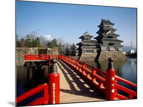 Matsumoto Castle, Nagano, Japan--Mounted Photographic Print