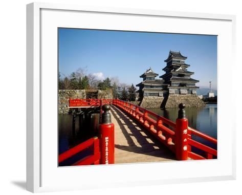 Matsumoto Castle, Nagano, Japan--Framed Art Print