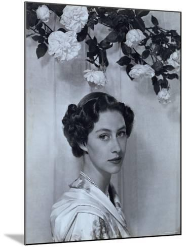 Portrait of the Late Princess Margaret, Countess of Snowdon, 21 August 1930 - 9 February 2002-Cecil Beaton-Mounted Photographic Print