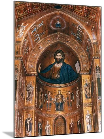 Mosaics on Apse including Christ Pantocrator, 12th century--Mounted Photographic Print