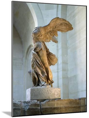 The Winged Victory or Nike of Samothrace--Mounted Photographic Print