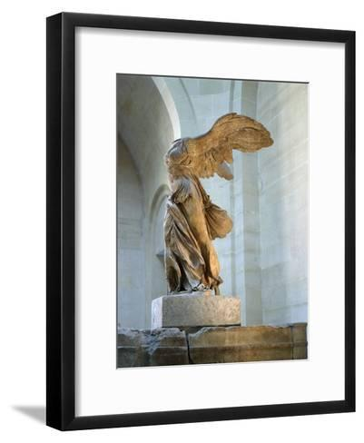 The Winged Victory or Nike of Samothrace--Framed Art Print