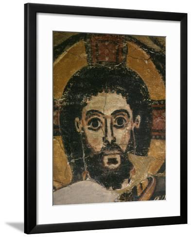 Christ in Glory, Fresco, 6th century, from Monastery of Saint Jeremiah, Saqqarah, Egypt--Framed Art Print