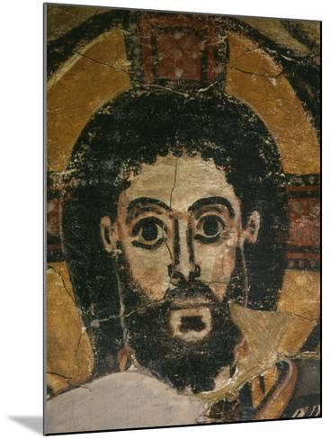Christ in Glory, Fresco, 6th century, from Monastery of Saint Jeremiah, Saqqarah, Egypt--Mounted Photographic Print