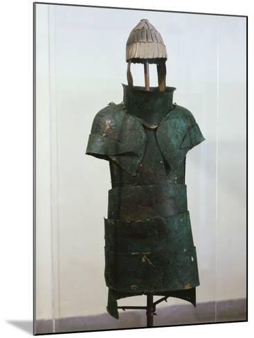 Armour, Bronze, Mycenaean, from Dendra, Greece--Mounted Photographic Print