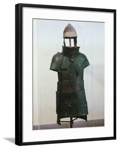Armour, Bronze, Mycenaean, from Dendra, Greece--Framed Art Print