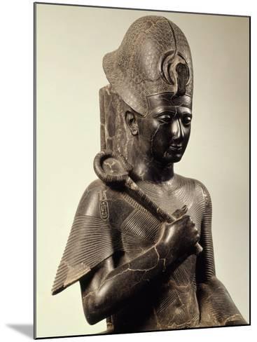 Ramses II, 1279-13 BC 19th Dynasty New Kingdom Egyptian Pharaoh, Seated on Throne, Granite--Mounted Photographic Print