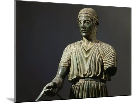 The Charioteer of Delphi, Bronze, c. 478 BC Archaic Greek--Mounted Photographic Print