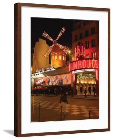 2010 Place Blanche Moulin Rouge--Framed Art Print