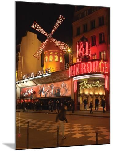 2010 Place Blanche Moulin Rouge--Mounted Photographic Print