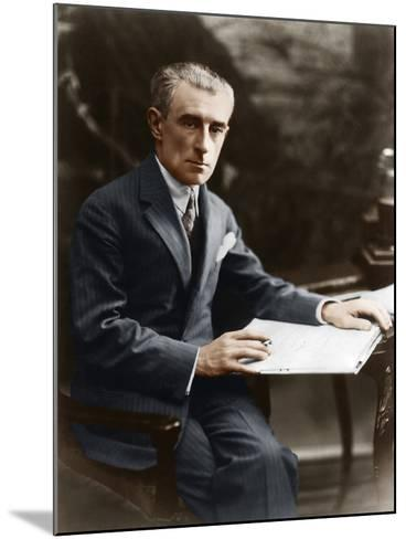 Maurice Ravel, C 1930--Mounted Photographic Print