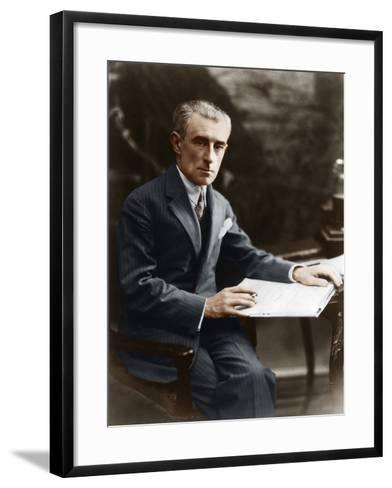 Maurice Ravel, C 1930--Framed Art Print