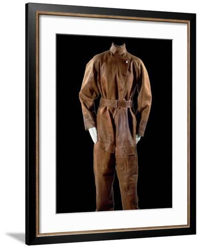 National Postal Museum: Amelia Earhart's Flight Suit--Framed Art Print
