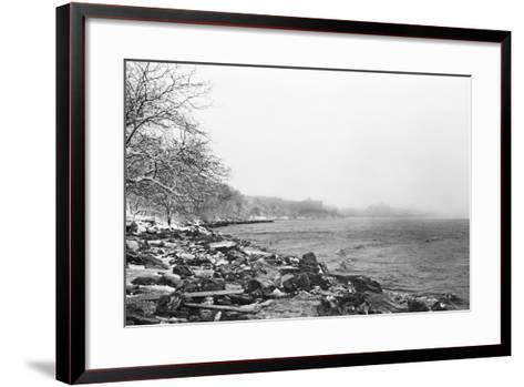 Shoreline-Evan Morris Cohen-Framed Art Print
