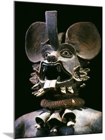 The God Murcielago, Terracotta, Aztec, from Chalco, Mexico--Mounted Photographic Print