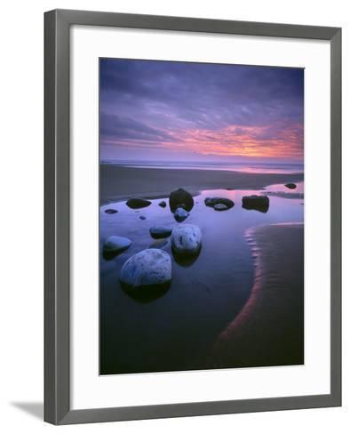 Dunraven Bay-Joe Cornish-Framed Art Print
