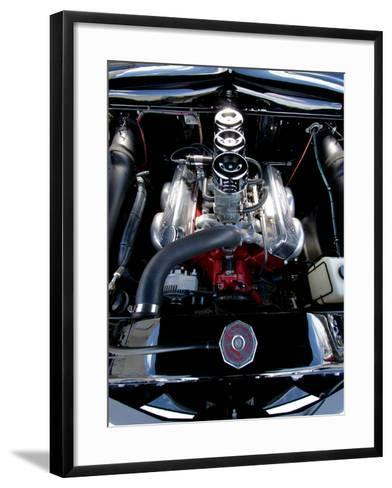 Billy F. Gibbons ZZ Top Car-David Perry-Framed Art Print