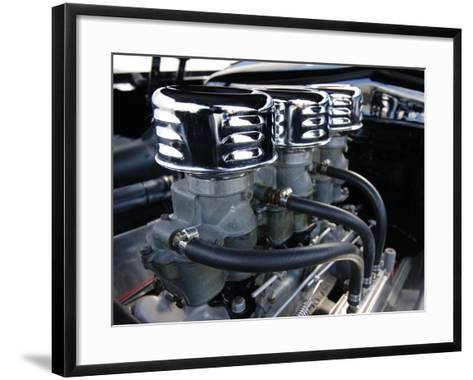 Billy F. Gibbons Hot Rod-David Perry-Framed Art Print