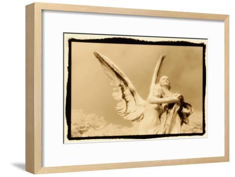 Guardian Angel, Luxembourg Gardens, Paris-Theo Westenberger-Framed Art Print