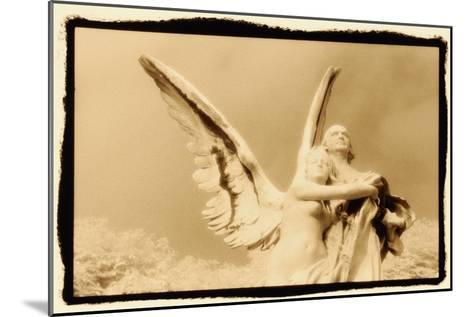 Guardian Angel, Luxembourg Gardens, Paris-Theo Westenberger-Mounted Photographic Print